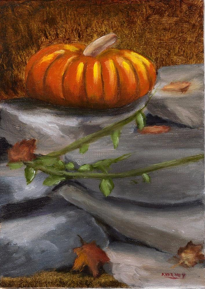 """Pumpkin"" original fine art by Daniel Varney"