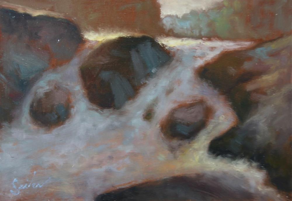 """Small Falls Studies Series3"" original fine art by Larry Seiler"