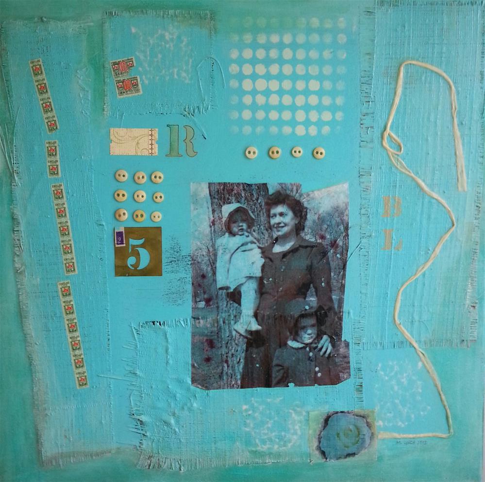 """""""Homemaker"""" original fine art by Marie Lynch"""