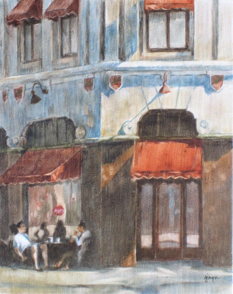 """The Fox Theater, Redlands"" original fine art by Ginger Pena"