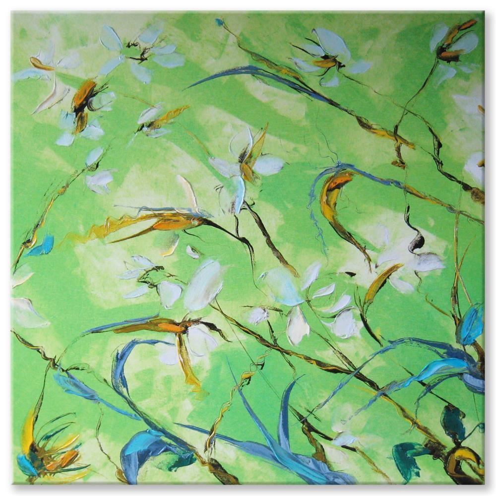 """St Bruno's lily"" original fine art by Elena Lunetskaya"