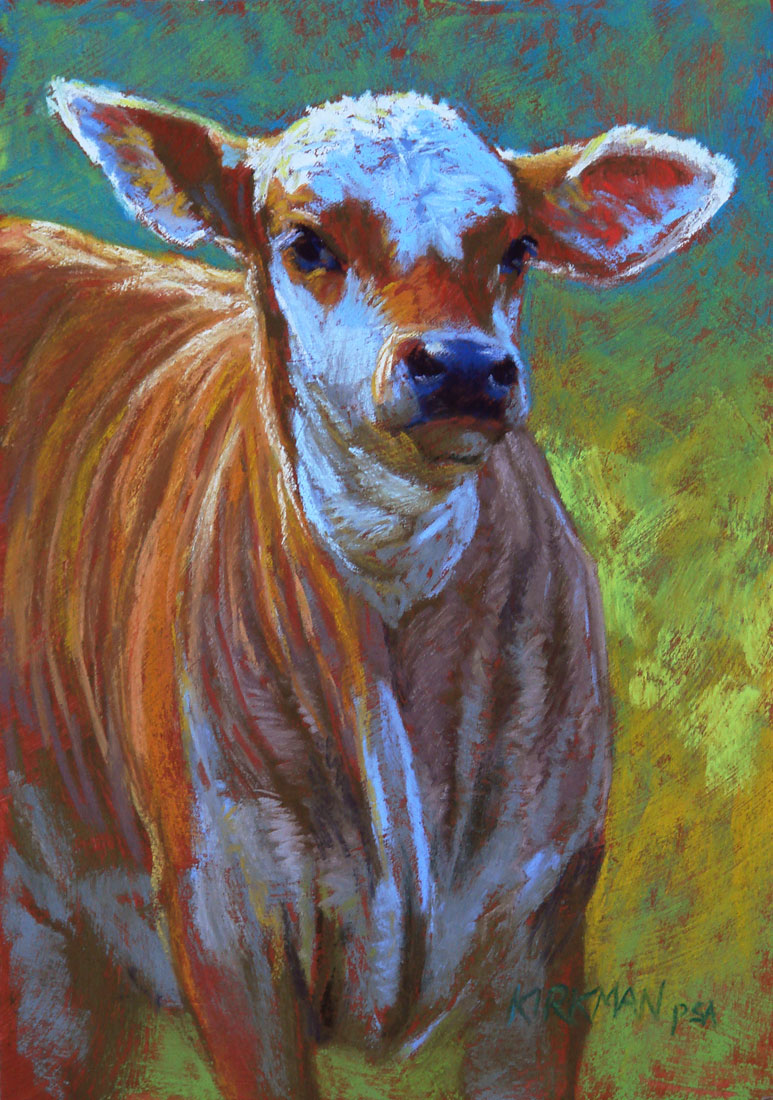 """Butterscotch"" original fine art by Rita Kirkman"