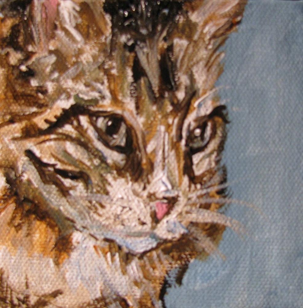 """Hootie"" original fine art by Susan Elizabeth Jones"