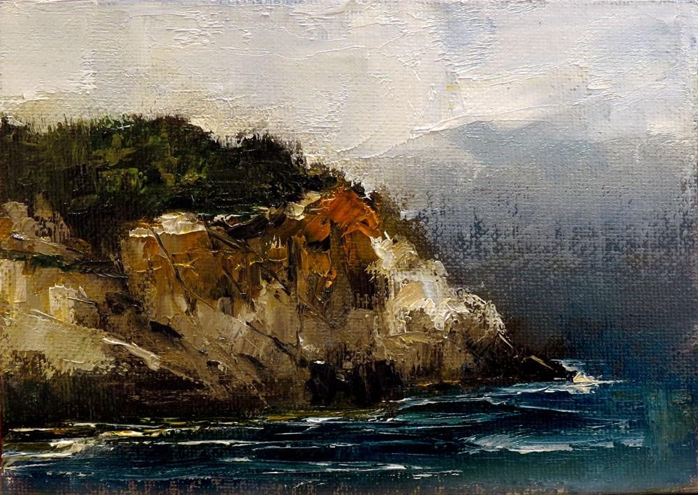 """Monhegan Island, Maine"" original fine art by Bob Kimball"