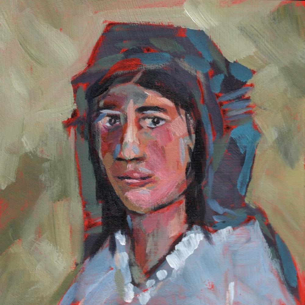 """Josefina (#345)"" original fine art by Brian Miller"