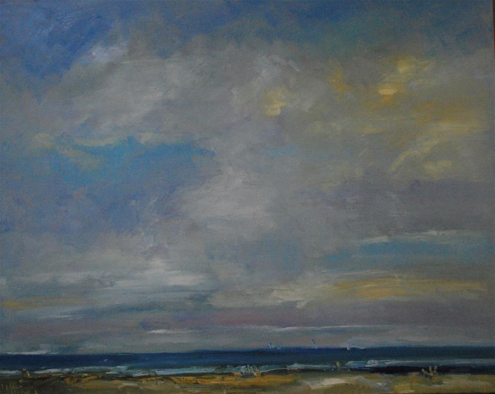 """Beaches"" original fine art by Deborah Harold"