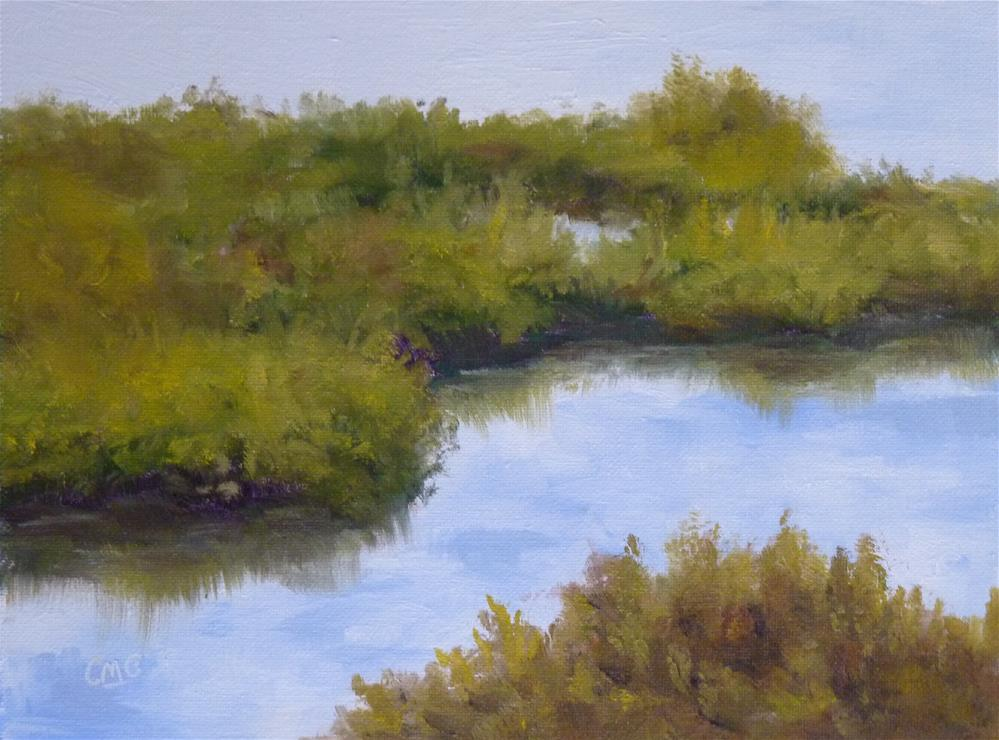 """Late Summer"" original fine art by Cindy Greene"