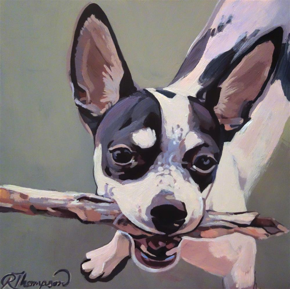 """Sadie Reserved Day 13"" original fine art by Rachel Thompson"