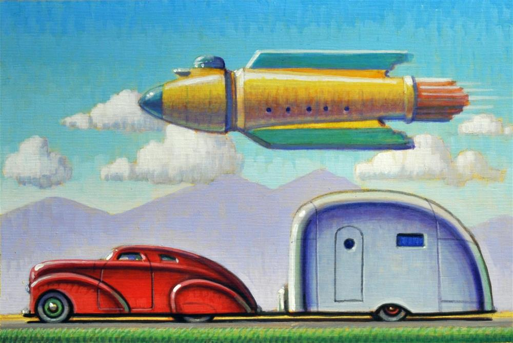 """Attraction"" original fine art by Robert LaDuke"