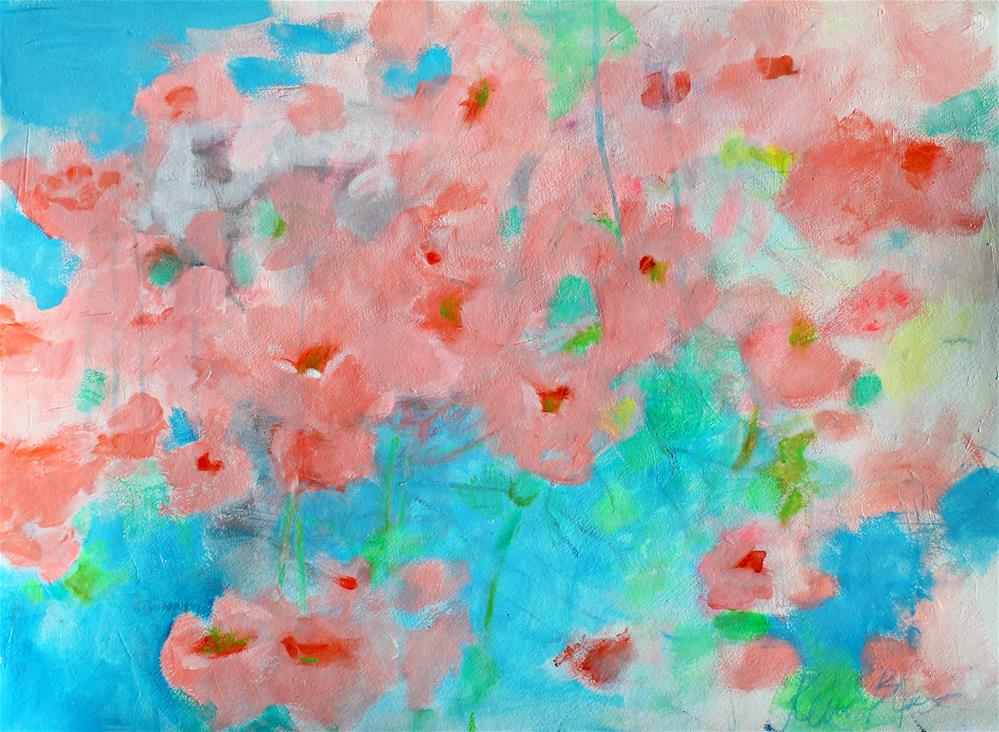 """California Poppies "" original fine art by Kerri Blackman"