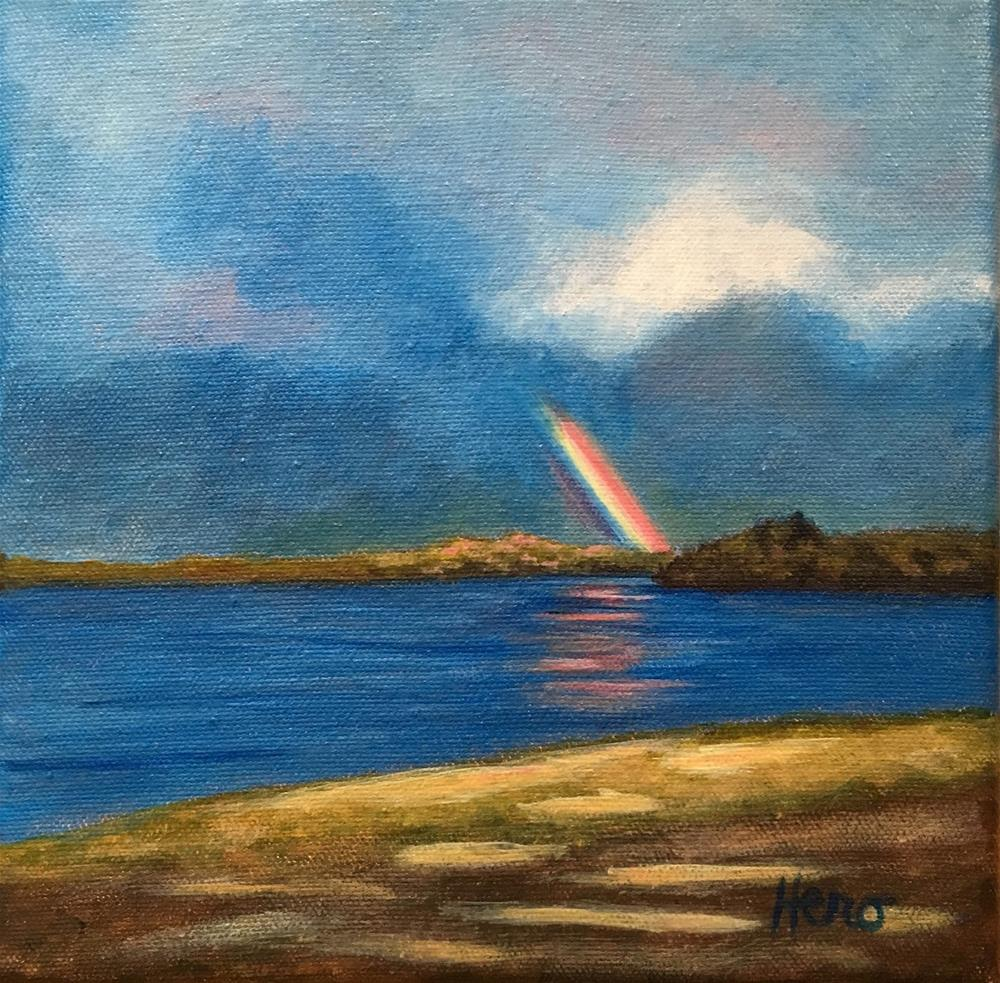 """""""After the Storm"""" original fine art by Marcia Hero"""