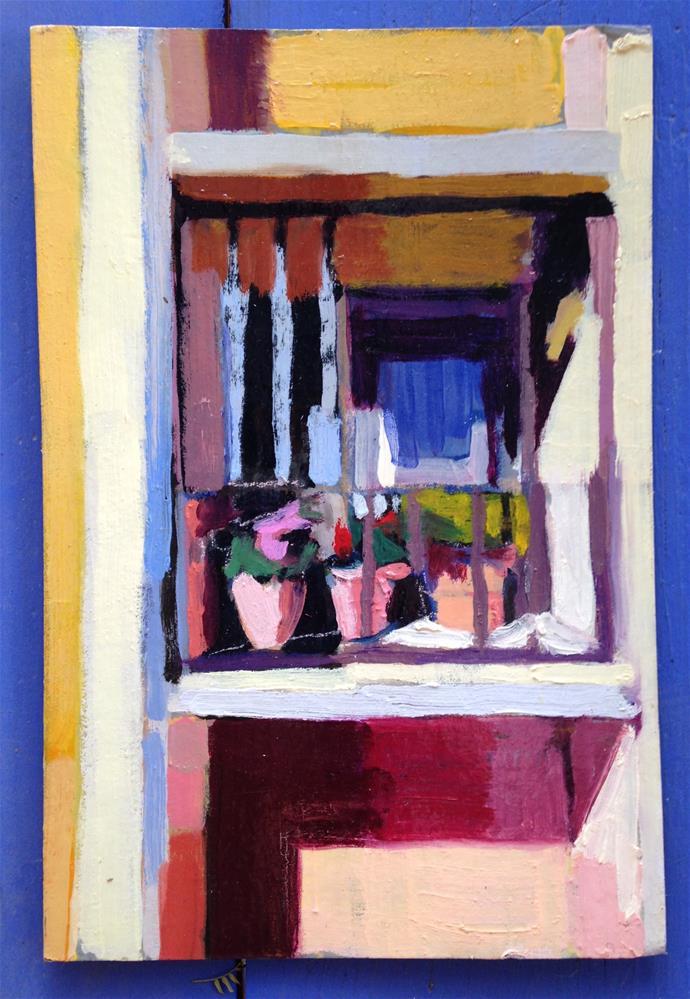 """Window of Hope"" original fine art by Pamela Hoffmeister"