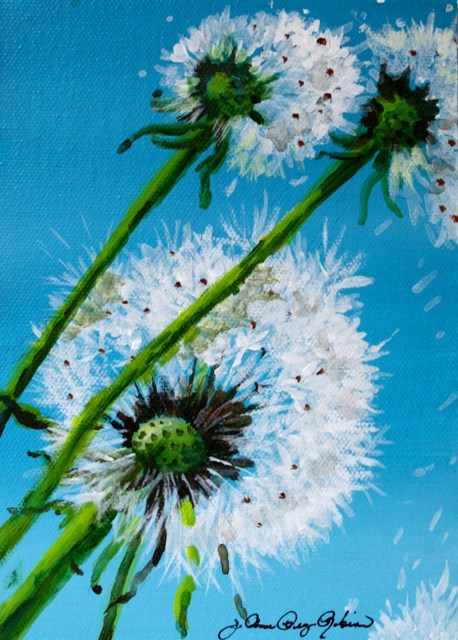 """wish"" original fine art by JoAnne Perez Robinson"