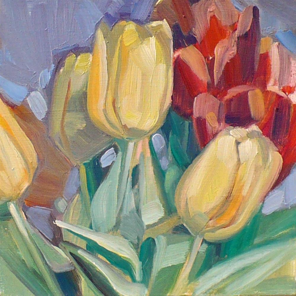 """""""tulip study"""" original fine art by Nicoletta Baumeister"""