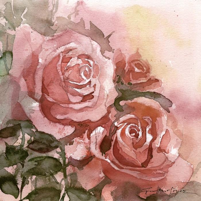 """""""Flores 36"""" original fine art by Emilio López"""