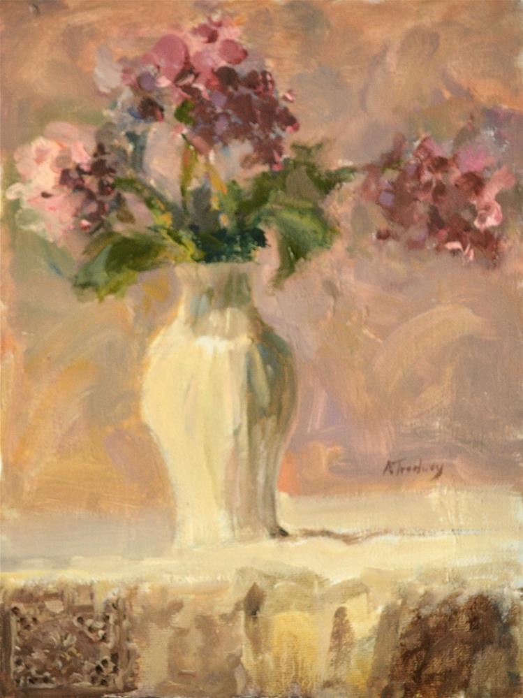 """Hydrangeas"" original fine art by alicia tredway"