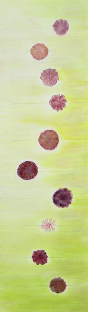 """10 Flowers"" original fine art by Alina Frent"