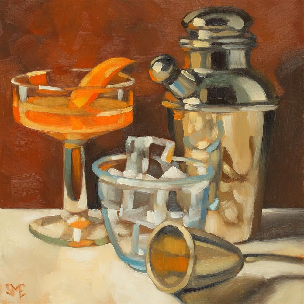 """Fresh Mix"" original fine art by Sheila Evans"