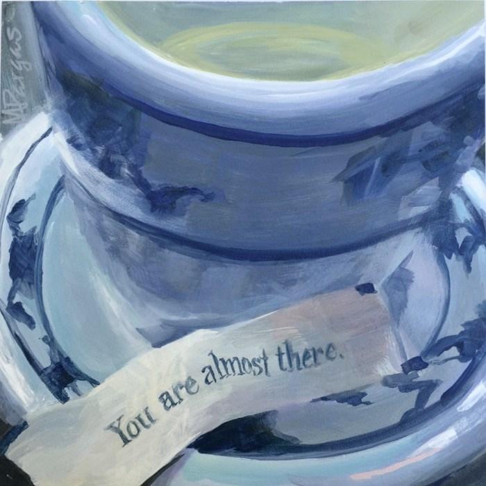 """Encouragement"" original fine art by Mary Pargas"