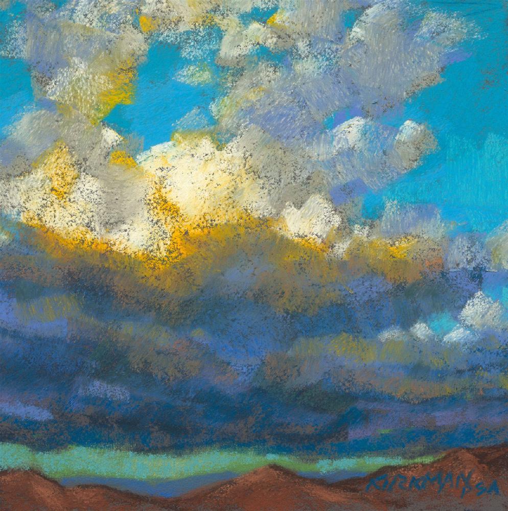 """""""Summer Sky #2"""" original fine art by Rita Kirkman"""