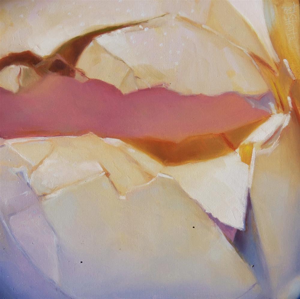 """""""Broken egg"""" original fine art by Víctor Tristante"""