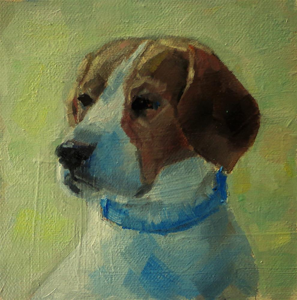 """Beagle"" original fine art by Maria Z."