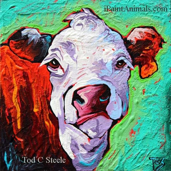 """""""Harumph! by Tod C Steele"""" original fine art by Tod Steele"""