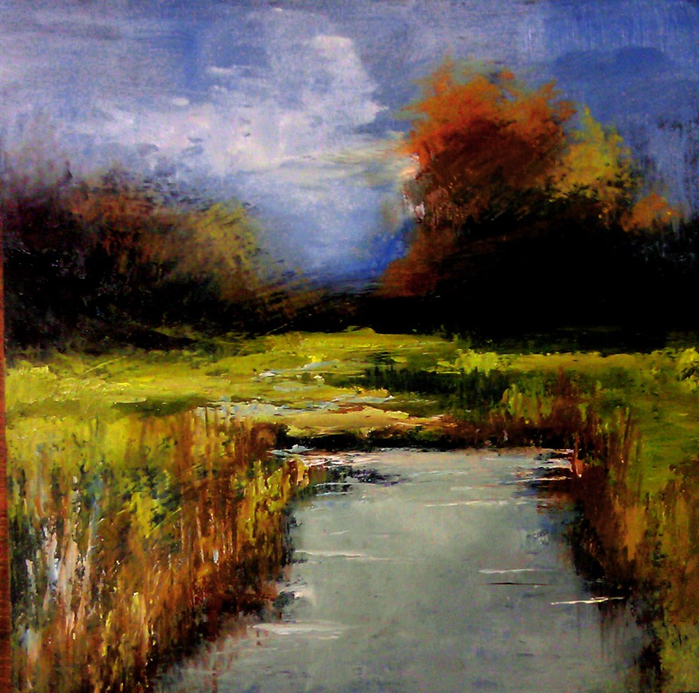 """In the Marshes"" original fine art by Bob Kimball"