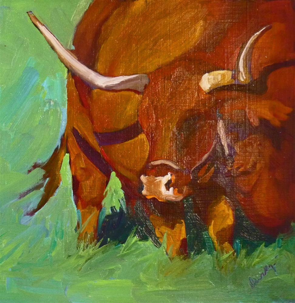 """CEO"" original fine art by Sharman Owings"