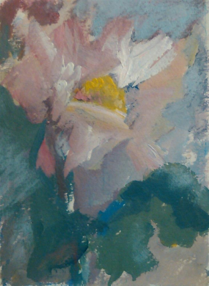 """Petal Frosting"" original fine art by Ann Rudd"