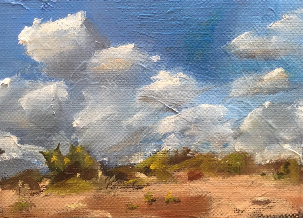 """Desert Sky"" original fine art by Gary Bruton"