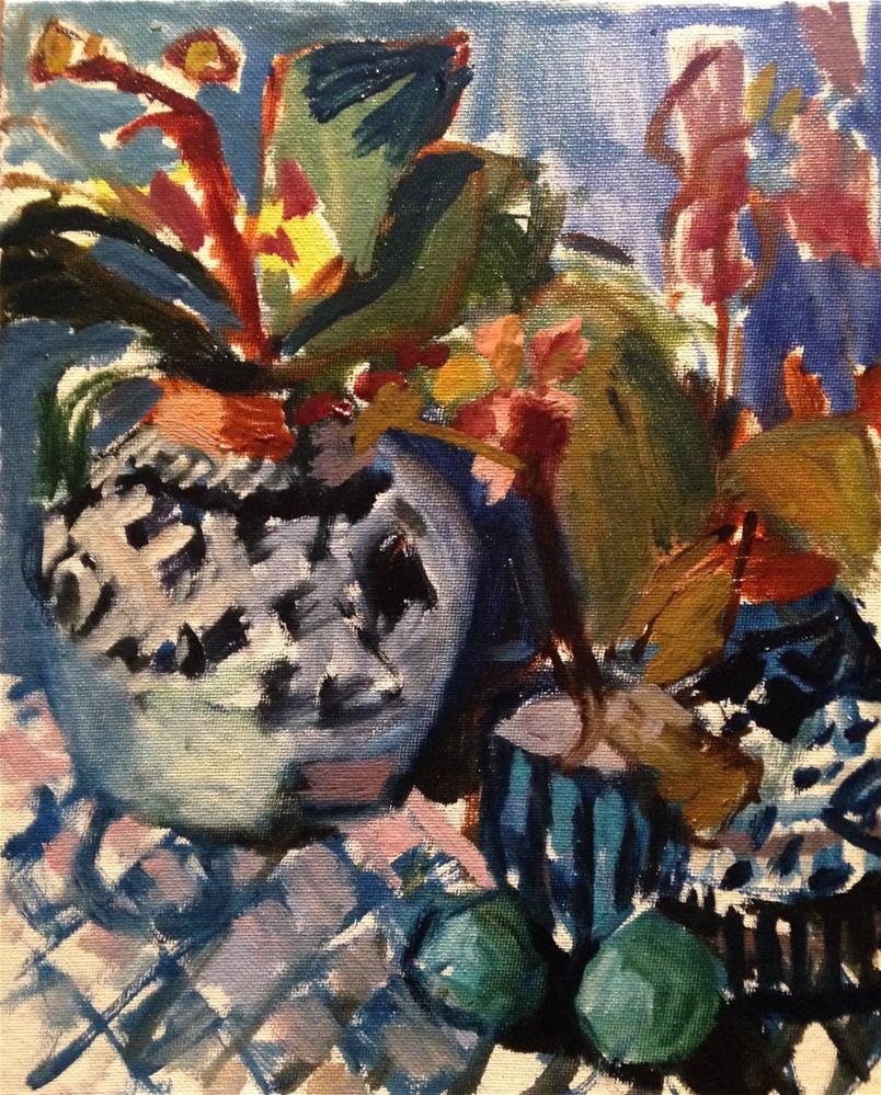 """Watercolor Orchids"" original fine art by Pamela Hoffmeister"
