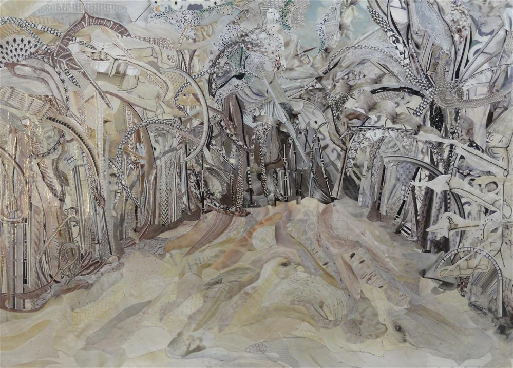 """Winter Whites"" original fine art by Cynthia Frigon"