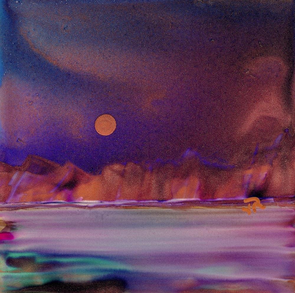 """Dreamscape No. 409"" original fine art by June Rollins"