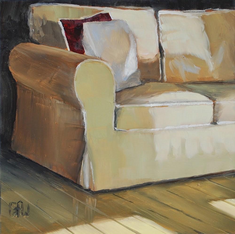 """Sofa"" original fine art by Gary Westlake"