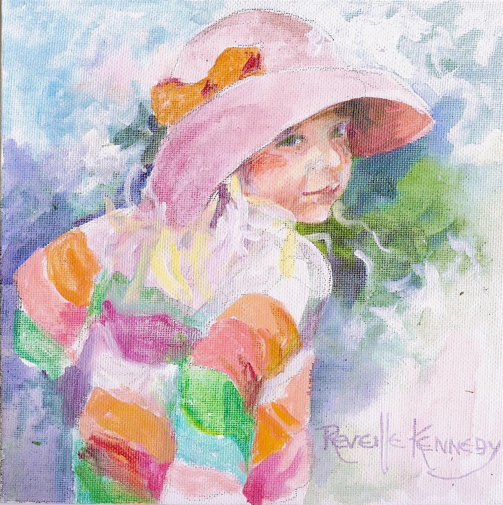 """""""Looking Back"""" original fine art by Reveille Kennedy"""