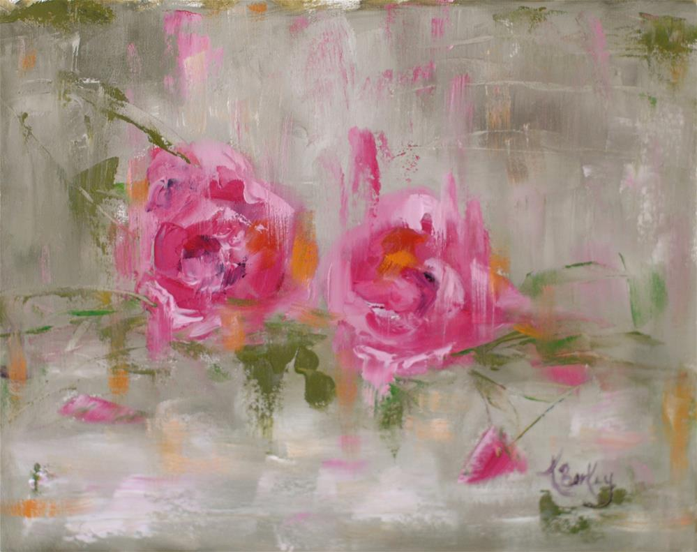 """Wild Rose"" original fine art by Kelly Berkey"