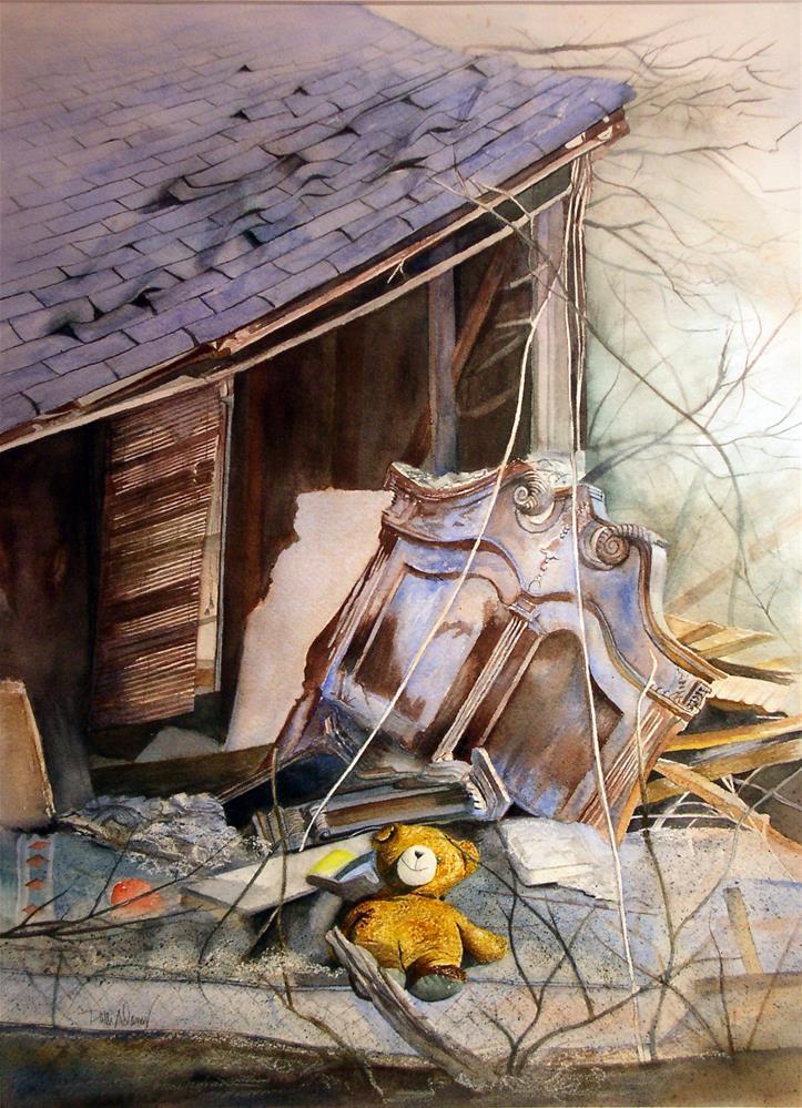 """The Sentinel"" original fine art by Patti Adams"