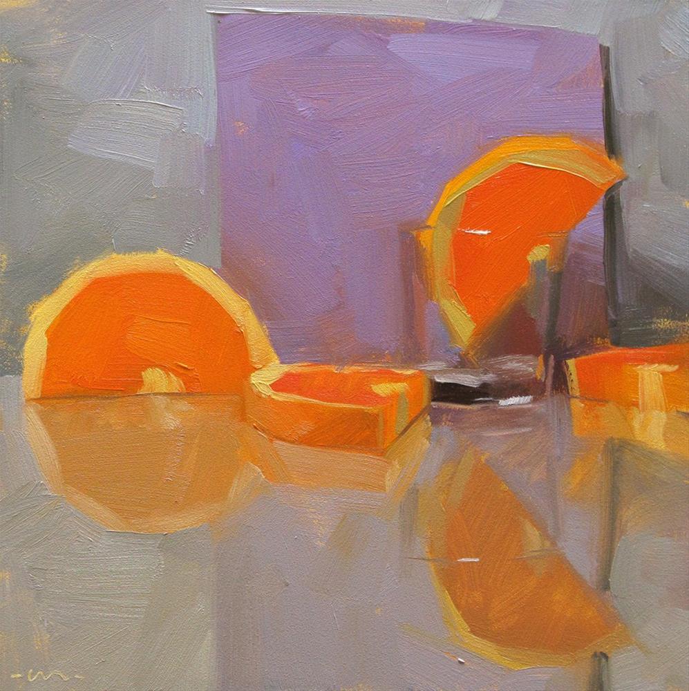 """Blitzed"" original fine art by Carol Marine"