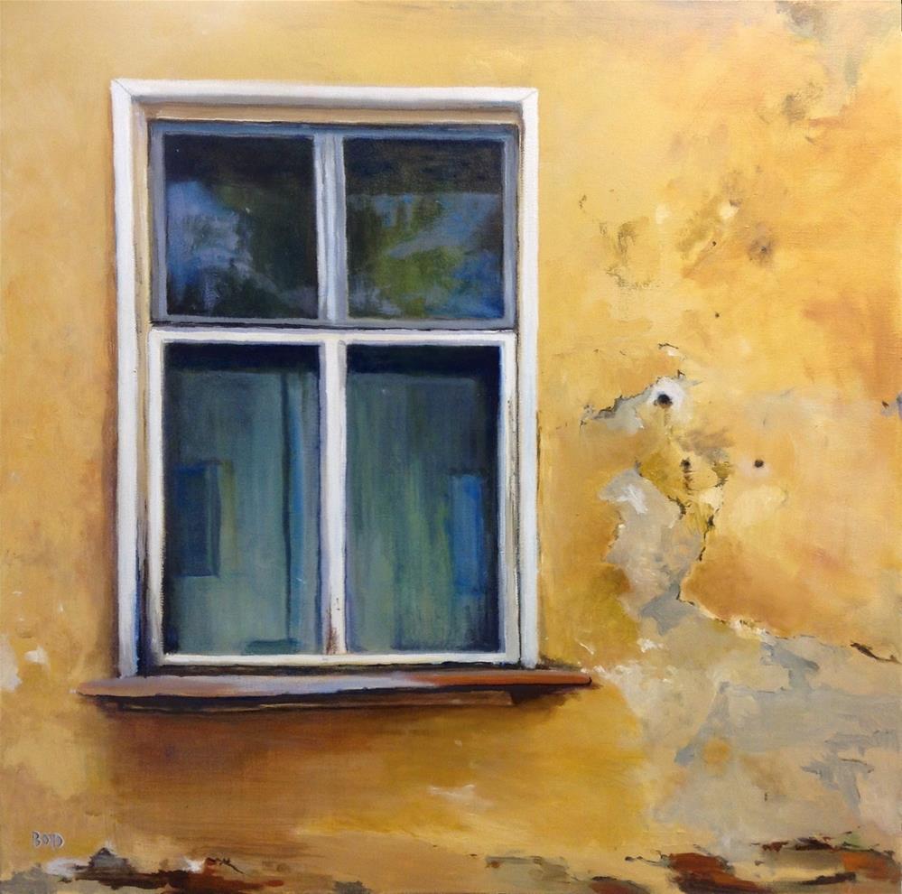 """""""Sneak Peek"""" original fine art by Cathy Boyd"""