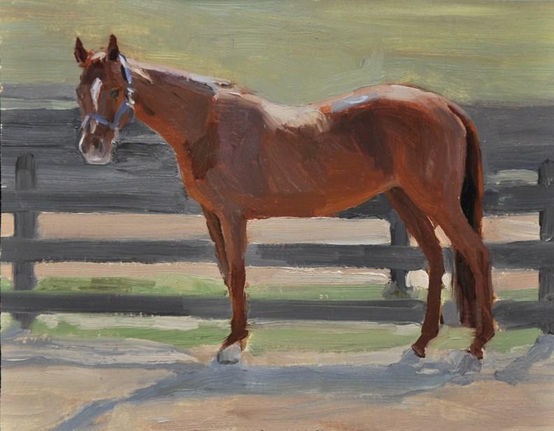 """Janesway Farm"" original fine art by Scott Harding"
