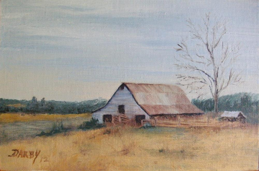 """""""Off season"""" original fine art by Lynn Darby"""