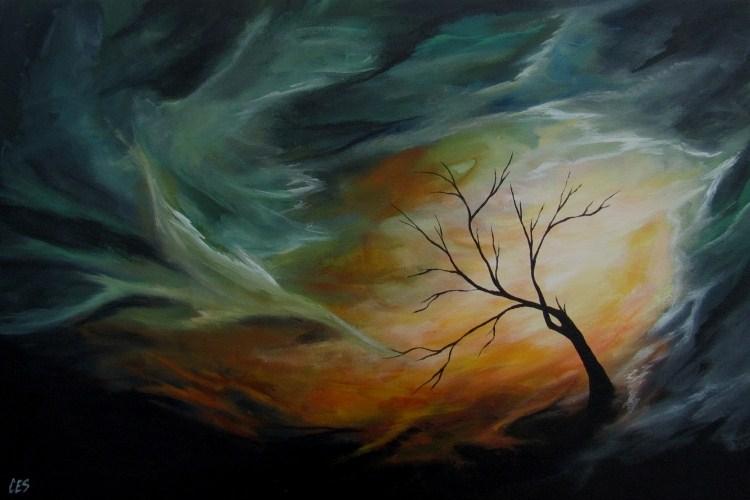 """--untitled--"" original fine art by ~ces~ Christine E. S. Code"