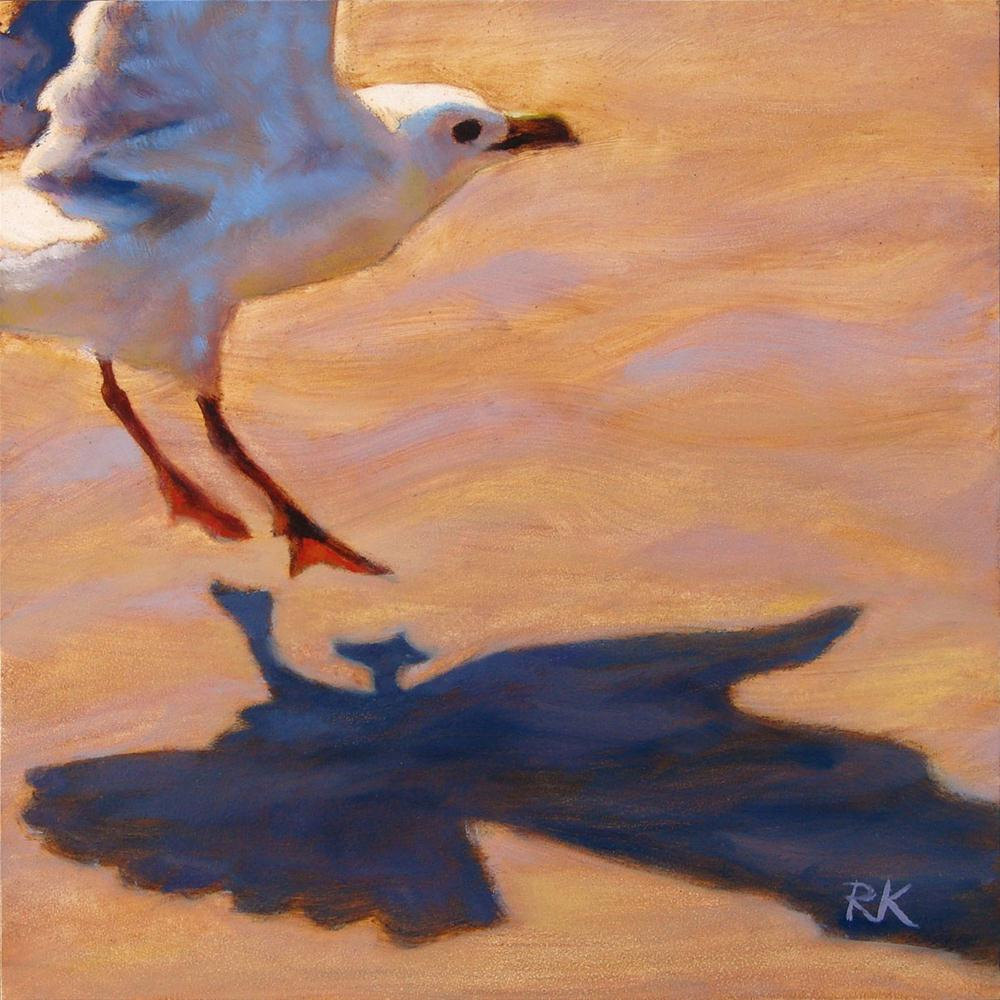 """A Smooth Landing"" original fine art by Rita Kirkman"