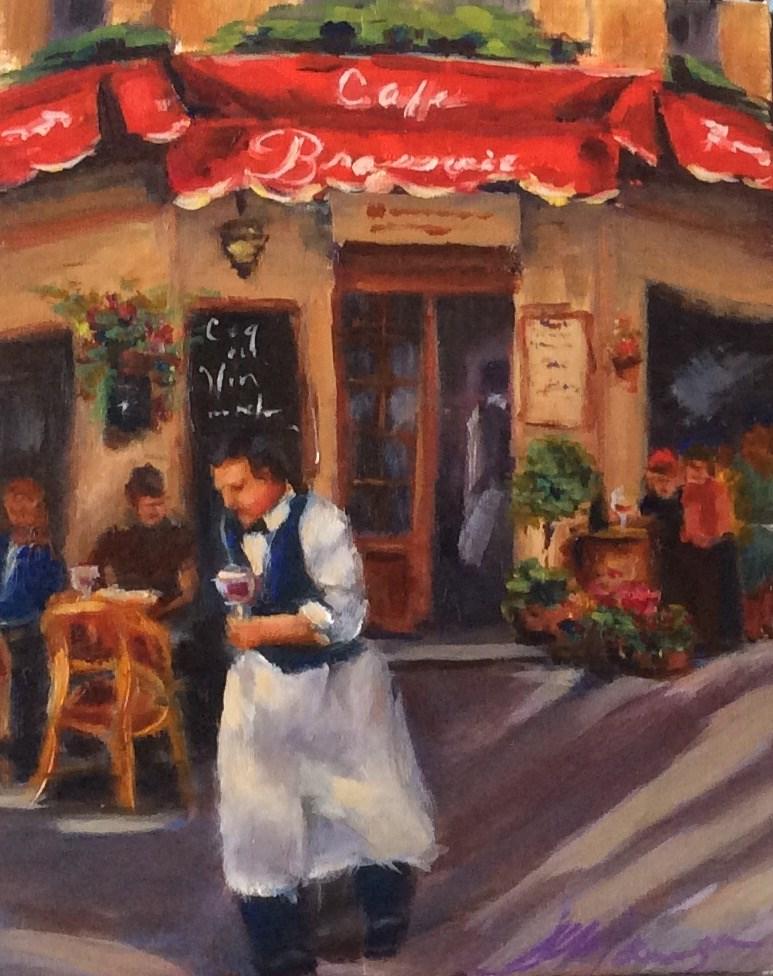 """""""Ideal Afternoon"""" original fine art by Susie Monzingo"""