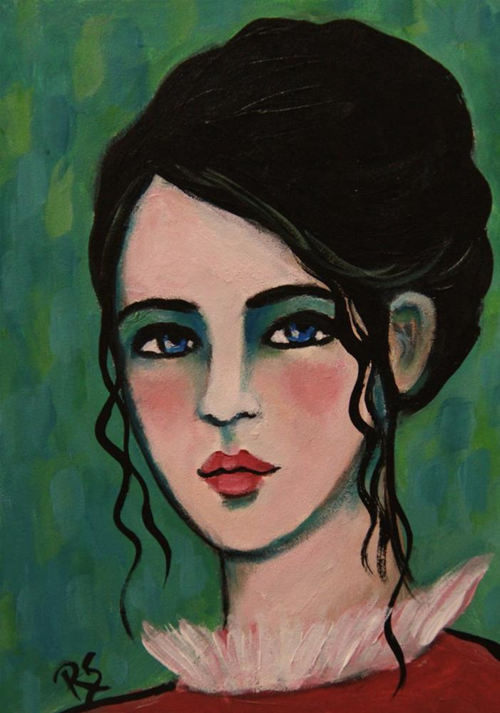 """""""Serena"""" original fine art by Roberta Schmidt"""