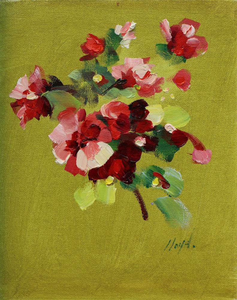 """Blossoms"" original fine art by Diane Lloyd"