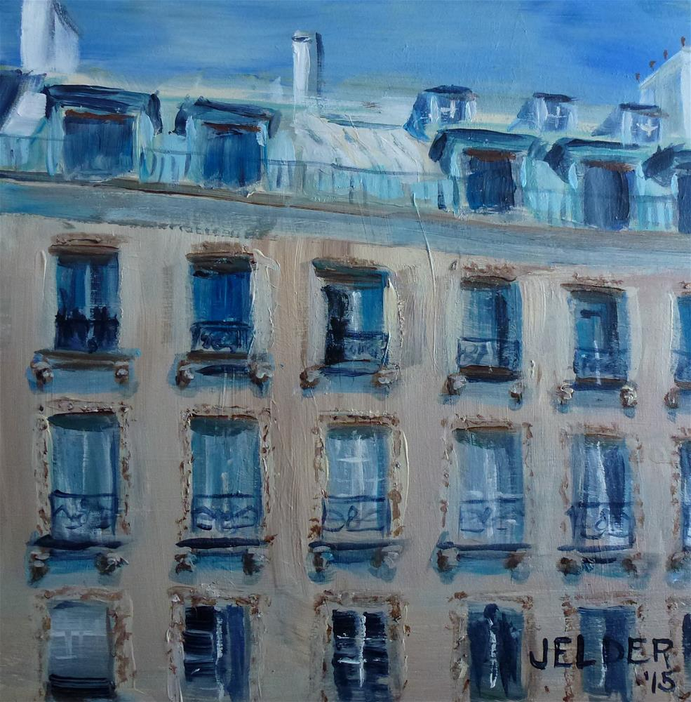 """Paris No. 88"" original fine art by Judith Elder"
