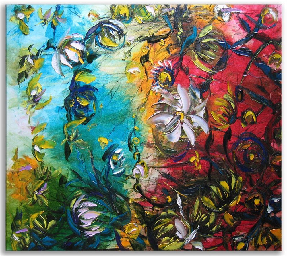 """Hawaiian spring"" original fine art by Elena Lunetskaya"