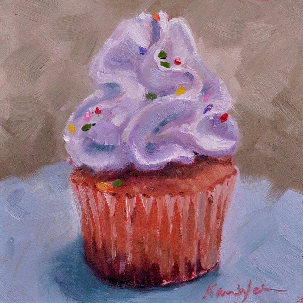 """""""Happy Birthday"""" original fine art by Karen Weber"""